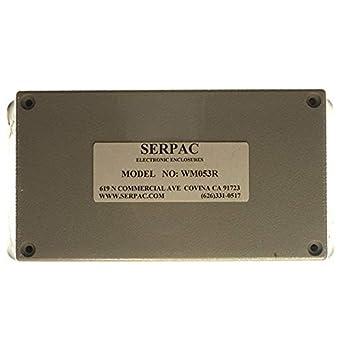 Caja ABS gris 5.62 pulgadas de largo x 3.25 pulgadas de ancho ...