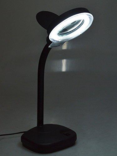 Tms Tabletop Gooseneck Magnifying Lamp Magnifier 5x 10x