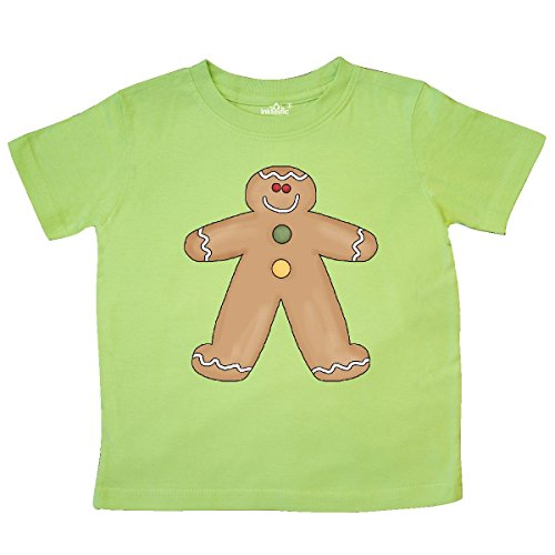 Toddler Gingerbread - inktastic Gingerbread_man2 Toddler T-Shirt 2T Key Lime