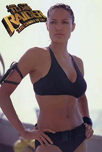 Amazon Com Lara Croft Tomb Raider The Cradle Of Life Poster