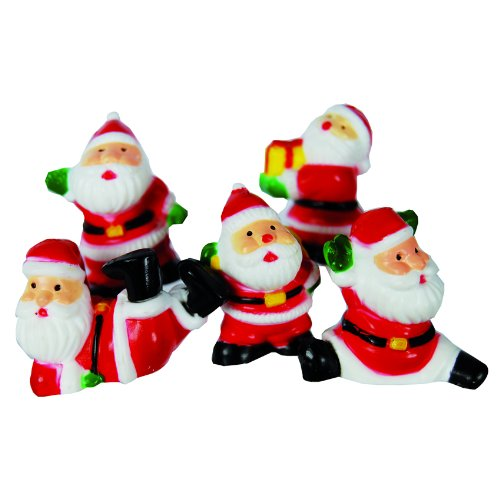 Anniversary House Fun Santa Picks (Pack of 5) Creative Party Ltd F308