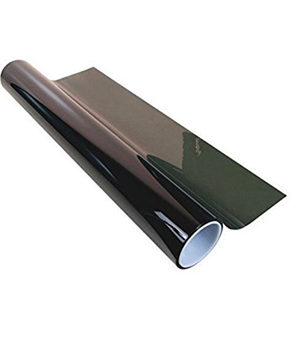 Diablo 2 Ply Window Tint Double Ply Professional Dark Charcoal 20% Tint Roll Self Adhesive Tint Film Roll for Car Windows - 24