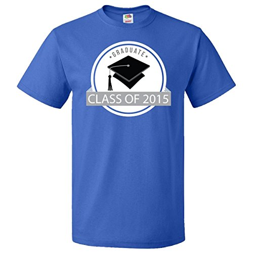 Inktastic Class of 2015 Gift For Graduate T-Shirt Large Royal Blue