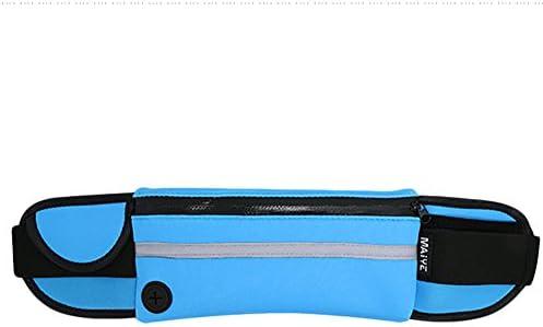 5.0 cm Hosaire 1x Cintur/ón de Viaje Rinonera Interior para Dinero con Cartera Oculta de Viaje para Viaje//Correr//Vida Cotidiana 100.0 cm 15.0 cm