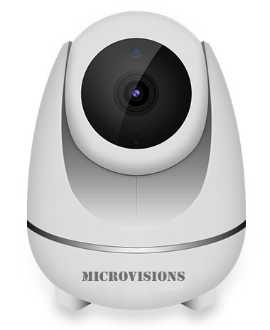 Microvisions Auto Tracking Cloud Storage 1080P Wireless Security Wifi Ip Camera For Home Security Surveillance Baby Pet Monitor With Ptz Two Way Audio Motion Detection Night Vision  Ios  Android App