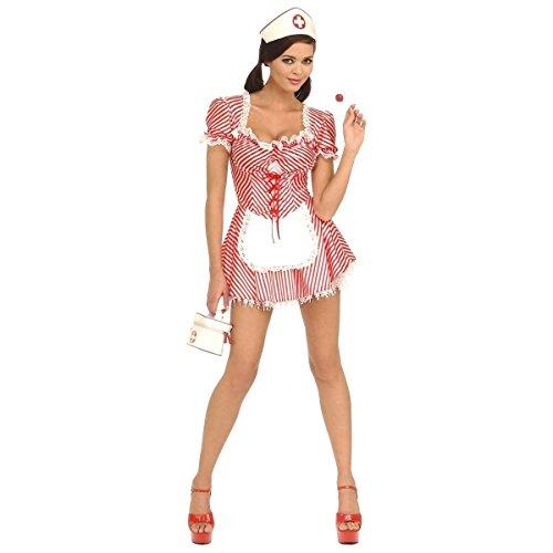 Gothic Snow White Costumes (Candy Striper Nurse Costume - X-Small - Dress Size 2-6)