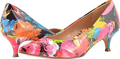 Leather Shoes Womens Vionic Kit 389 Josie Floral Black fTxUIq