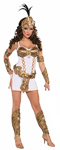 Forum Novelties Women's Days Of Glory Warrior Woman Costume, White, Standard -