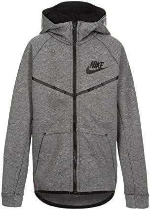 Nike Tech Fleece Windrunner Veste à Capuche Garçon, Carbon