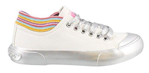 Rocket Dog Girl's, Jetson Jr Lace up Shoes White 12 -