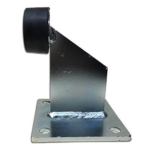 Heavy Slide Gate Duty (Heavy duty gate stop floor mounted Slide Driveway Ground Gate Stopper with Base)