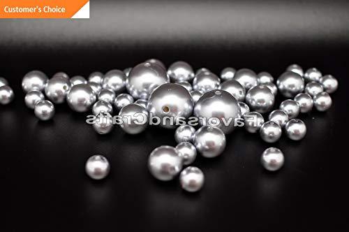 Hebel 76 Pearl Vase Fillers Balls Clear Pink Gems Gold Decorative Wedding Table Decor | Model DCRTVBLL - 24 |