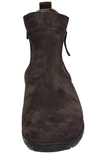 Comfortabel Damen Stiefel Schwarz, 990971-1 braun