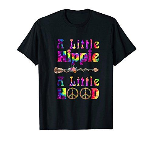- Womens A Little Hippie A Little Hood T Shirt