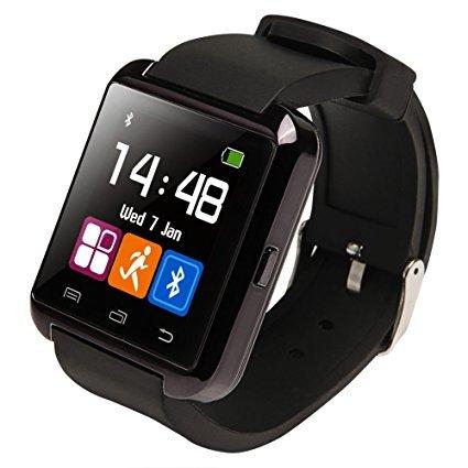 Amazingforless Black Bluetooth Touch Screen Smart Wrist Watch