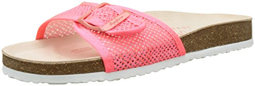 Mesh disco Pepe Pink Oban Jeans Ciabatte Donna Rosa ffEPS