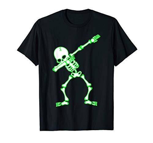 Dabbing Skeleton Shirt Kids, Bones, Funny Halloween -