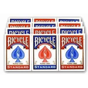 - Bicycle Rider Back Poker Playing Cards - 1 Dozen