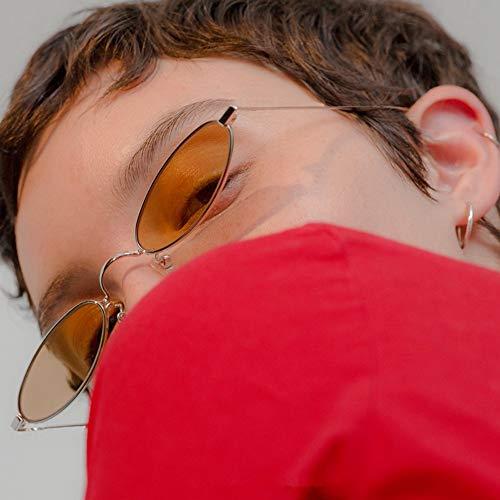 Las Sol WANGKEAI De Las De Las De Ovales Hombres Señoras Gafas Señoras Gafas Transparentes De De 7 Retro Nuevas Señoras 7 Las Lentes Retras De Los qqatFw