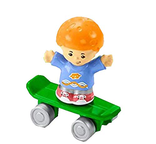 Fisher-Price Little People Big Helpers Garage - Replacement Koby and Skateboard FHD93