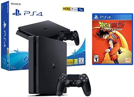 PS4 Slim 1Tb Negra Playstation 4 Consola + Dragon Ball Z: Kakarot ...