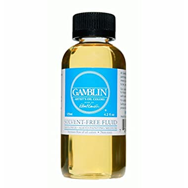 Gamblin SOLVENT FREE FLUID 02604 4.2oz bottle