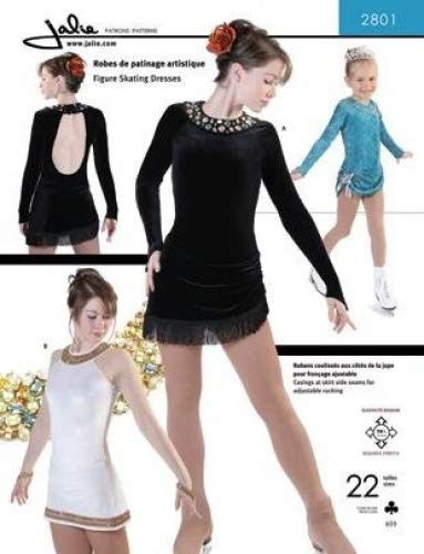 Amazon Jalie Figure Skating Dress With Adjustable Ruching