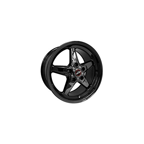 Race Star Wheels 92 Drag Star Dark Star Black Chrome 18x10.5 Corvette 5x4.75