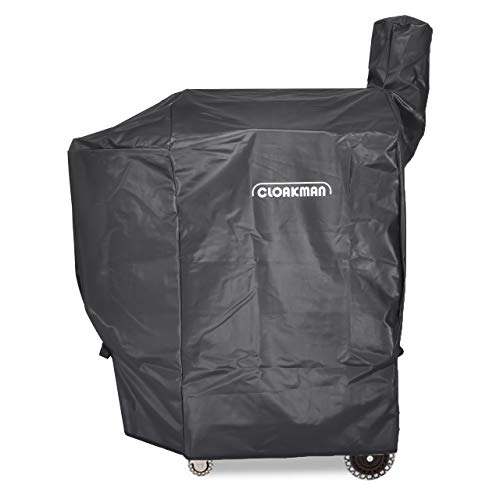 Cloakman Premium Heavy-Duty Grill Cover for Traeger Renegade Pro 20 Grill Cover Lone Star Elite TFB38/TFB52QPB PUD ()