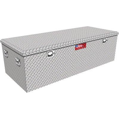 60in. Aluminum Diamond Plate Storage Container Box with Lock (Storage Box Diamond Plate)