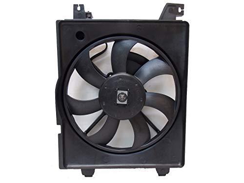 Sunbelt AC Condenser Fan Assembly For Hyundai Tiburon Elantra HY3113105 Drop in Fitment
