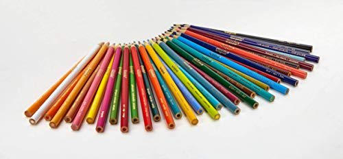 Crayola Colored Pencils, 36 Premium Quality, Long-Lasting, Pre-Sharpened Pencils Non-Toxic Colored Pencil Set for Adult Coloring Books or Kids 4 & Up, Great for Shading, Gradation, Line Art & More by Crayola (Image #1)