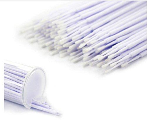 400 Pcs Eyelash Micro Applicator Brushes Disposable Micro Brushes Makeup Applicators Kit small (1.2mm)