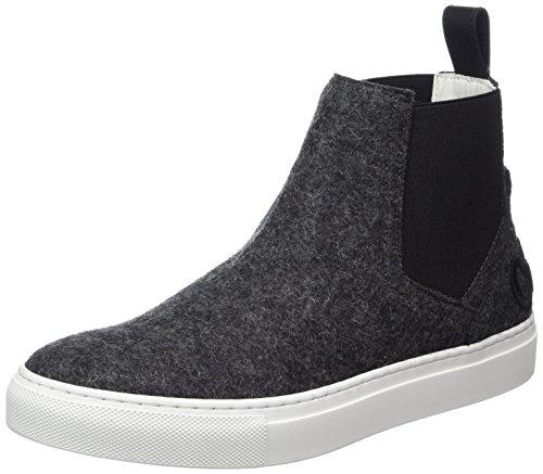 Boss Shoes Womens (Hugo Women's Erin-ft 10202341 01 High Sneaker, Black (Charcoal), 5 UK)