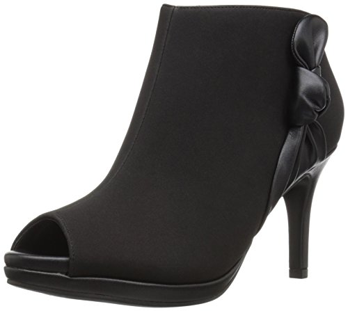 LifeStride Women's Addison Ankle Bootie Black