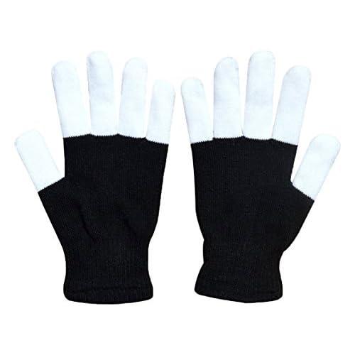 W-plus Flashing Finger Lighting Gloves LED Colorful Rave Gloves 7 Colors Light Show  sc 1 st  DavidandFilms & W-plus Flashing Finger Lighting Gloves LED Colorful Rave Gloves 7 ...
