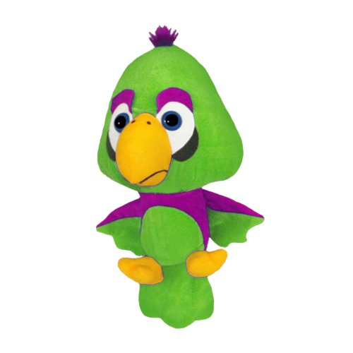 34 ToySource Rio The Parrot Plush Collectible Toy Green 34 RetailSource Ltd 6-565-Gre