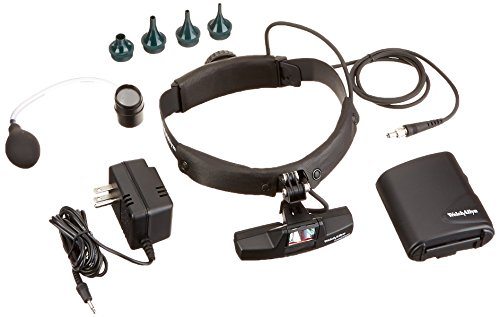 Welch Allyn 20500H LumiView Portable Binocular Microscope, Head Mount with Portable Battery Pack