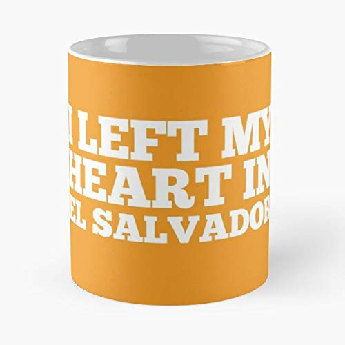 El Salvador Homesick Women And Children Gifts For Your Loved Ones - 11 Oz Coffee Mugs Unique Ceramic Novelty Cup, The Best Gift For Christmas.