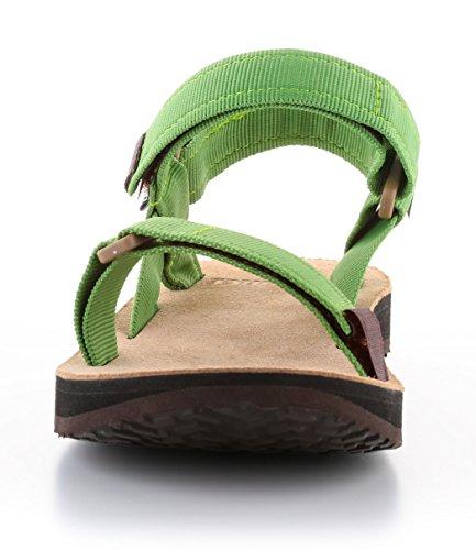Urban Wander Sandale Grün 10107116 Sandale Leather Sandale Trekking Outdoor und Source Herren qwzEfX7