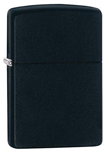 Zippo 218 Classic Black Matte Pocket Lighter