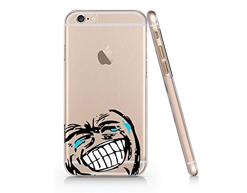 41iJyx1Pq2L amazon com crying meme plastic phone case phone cover for iphone 6