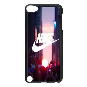Nike City BISHHHH Nosotros corazón de TI para el mejor funda iPod Touch 5 caja del teléfono celular Funda cubre negro