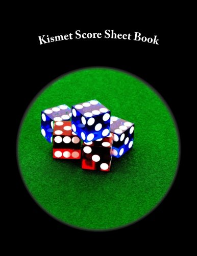 (Kismet Score Sheet Book: 100 Pages (50 sheets))