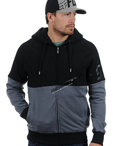 Fox Prospect Sherpa Zip Fleece Black 10528-001-2X