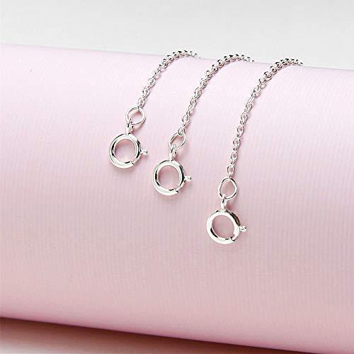 Buy sterling silver ankle bracelet extender