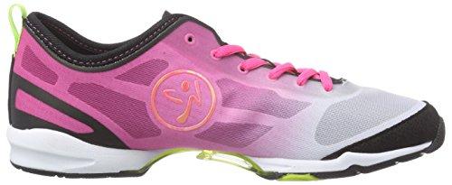 Zumba Footwear Zumba Flex II - zapatillas deportivas de material sintético mujer rosa - Pink (Pinkadelic/Black)