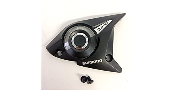 Shimano ST-EF51-4A upper cover and fixing screws black 7-speed