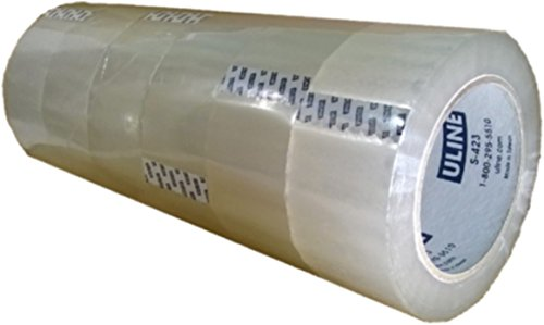 """Pack-Packing Tape 2"""" x 110yds Uline S-423"""