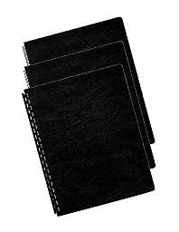 Fellowes Binding Presentation Covers, Oversize Letter, 200 Pack, Black (52138)